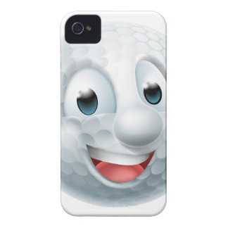 Cartoon Golf Ball Mascot iPhone 4 Case-Mate Case
