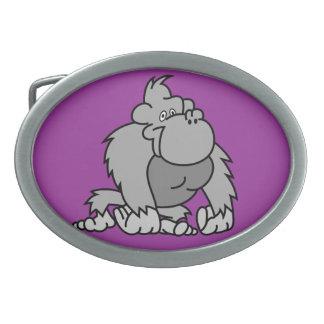 Cartoon Gorilla Belt Buckle