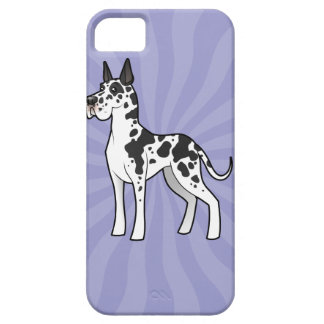 Cartoon Great Dane (cropped) Case For The iPhone 5