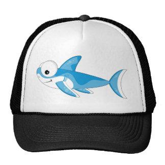 Cartoon Great White Shark Hats