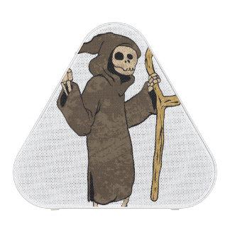 cartoon grim reaper.