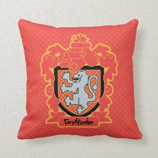 Cartoon Gryffindor Crest Cushion