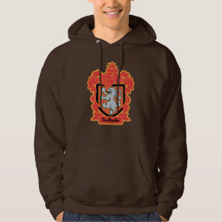 Cartoon Gryffindor Crest Hoodie