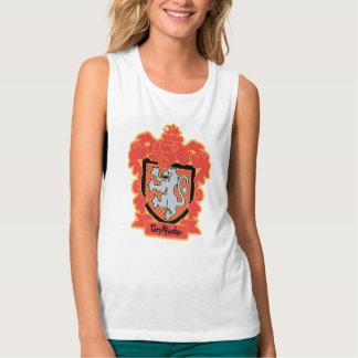 Cartoon Gryffindor Crest Tank Top