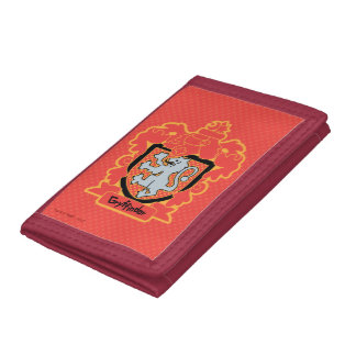 Cartoon Gryffindor Crest Tri-fold Wallets