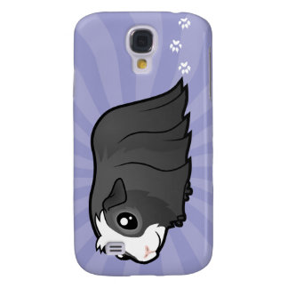 Cartoon Guinea Pig (long hair) Galaxy S4 Case