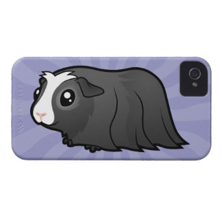 Cartoon Guinea Pig (long hair) iPhone 4 Case