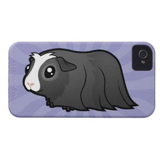Cartoon Guinea Pig (long hair) iPhone 4 Covers