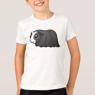 Cartoon Guinea Pig (long hair) T-Shirt