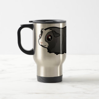 Cartoon Guinea Pig (long hair) Travel Mug