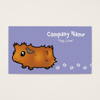 Cartoon Guinea Pig (scruffy)