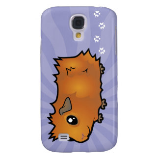 Cartoon Guinea Pig (scruffy) Galaxy S4 Case