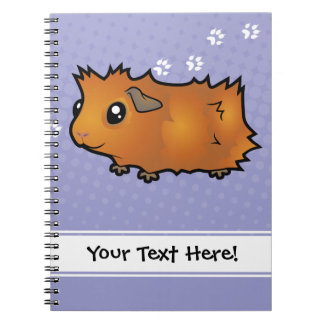 Cartoon Guinea Pig (scruffy) Notebook