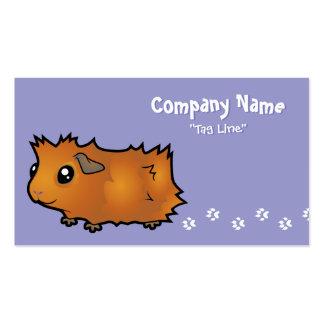 Cartoon Guinea Pig (scruffy) Pack Of Standard Business Cards