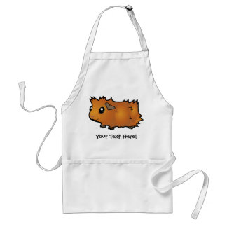 Cartoon Guinea Pig (scruffy) Standard Apron