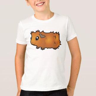 Cartoon Guinea Pig (scruffy) T-Shirt