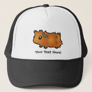 Cartoon Guinea Pig (scruffy) Trucker Hat