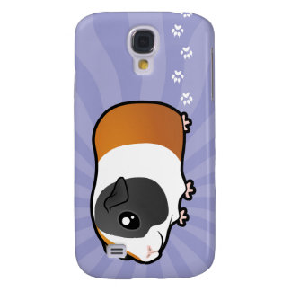 Cartoon Guinea Pig (smooth hair) Galaxy S4 Case