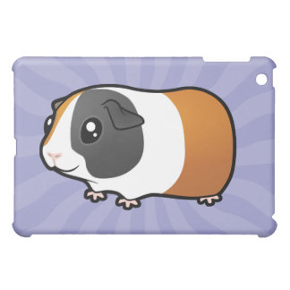 Cartoon Guinea Pig (smooth hair) iPad Mini Covers