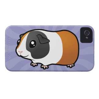 Cartoon Guinea Pig (smooth hair) iPhone 4 Case-Mate Cases