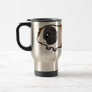 Cartoon Guinea Pig (smooth hair) Mugs