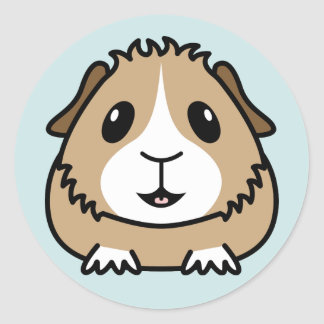 Cartoon Guinea Pig Stickers