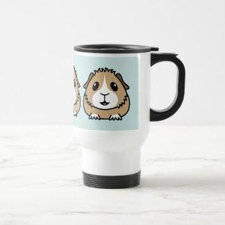 Cartoon Guinea Pig Travel Mug