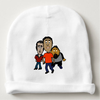 Cartoon Guys Baby Beanie