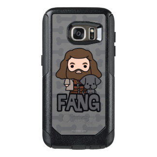 Cartoon Hagrid and Fang Character Art OtterBox Samsung Galaxy S7 Case