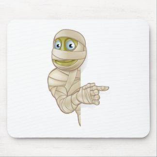 Cartoon Halloween Mummy Mouse Pad
