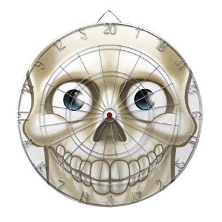 Cartoon Halloween Skull Skeleton Character Dart Boards