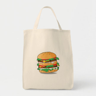 Cartoon Hamburger Bag