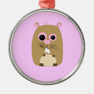 Cartoon Hamster Ornament
