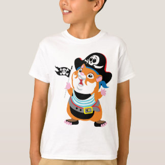 cartoon hamster pirate T-Shirt