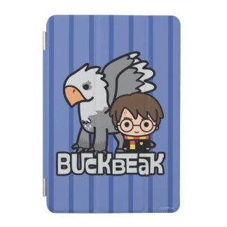 Cartoon Harry Potter and Buckbeak iPad Mini Cover
