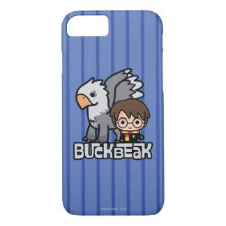 Cartoon Harry Potter and Buckbeak iPhone 8/7 Case
