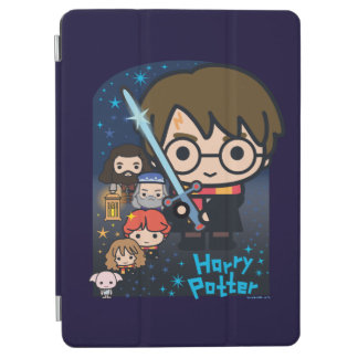 Cartoon Harry Potter Chamber of Secrets Graphic iPad Air Cover