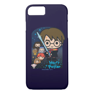 Cartoon Harry Potter Chamber of Secrets Graphic iPhone 8/7 Case
