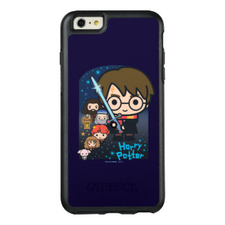 Cartoon Harry Potter Chamber of Secrets Graphic OtterBox iPhone 6/6s Plus Case