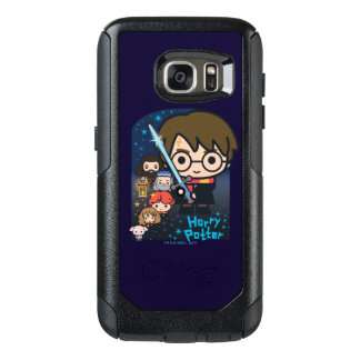 Cartoon Harry Potter Chamber of Secrets Graphic OtterBox Samsung Galaxy S7 Case