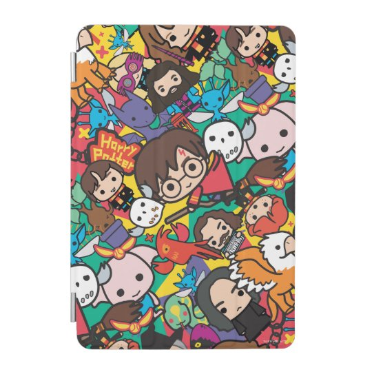 Cartoon Harry Potter Character Toss Pattern iPad Mini