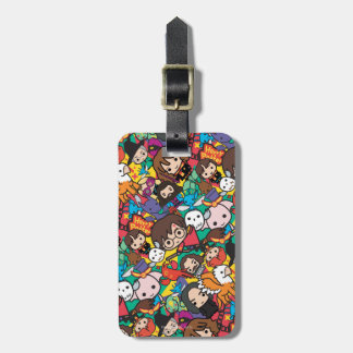 Cartoon Harry Potter Character Toss Pattern Luggage Tag