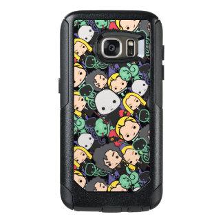 Cartoon Harry Potter Death Eaters Toss Pattern OtterBox Samsung Galaxy S7 Case