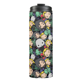Cartoon Harry Potter Death Eaters Toss Pattern Thermal Tumbler