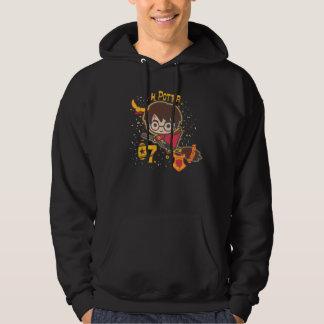 Cartoon Harry Potter Quidditch Seeker Hoodie