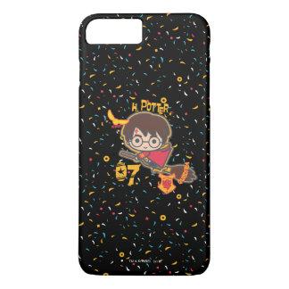 Cartoon Harry Potter Quidditch Seeker iPhone 8 Plus/7 Plus Case