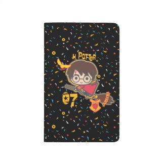 Cartoon Harry Potter Quidditch Seeker Journal