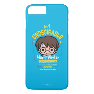 Cartoon Harry Potter Wanted Poster Graphic iPhone 8 Plus/7 Plus Case