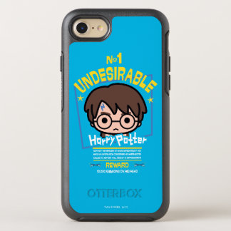 Cartoon Harry Potter Wanted Poster Graphic OtterBox Symmetry iPhone 8/7 Case