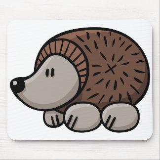 Cartoon Hedgehog Mouse Pad